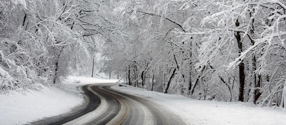 pogoda snieg slisko